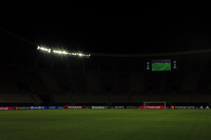 UEFA Super Cup stadium - Skopje, Macedonia