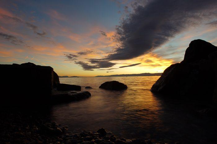Sunset in Lausanne 2 - Lake Geneva, Switzerland