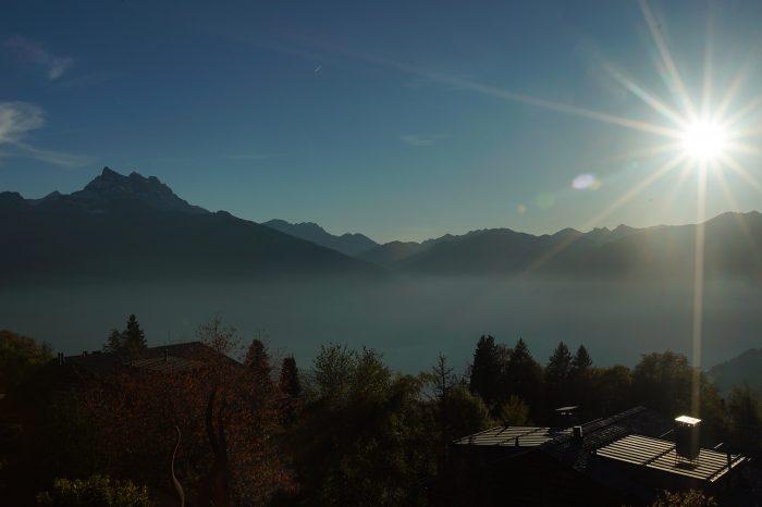 Mountain view in Autumn 1 - Villars, Switzerland