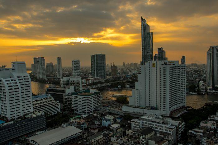 Bangkok at sunset - Thailand